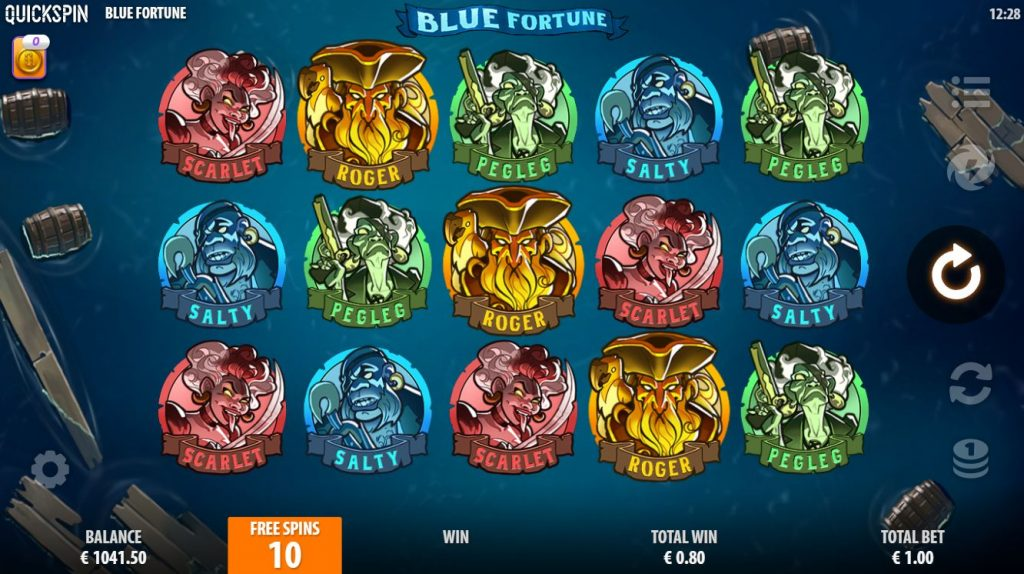 Blue Fortune game